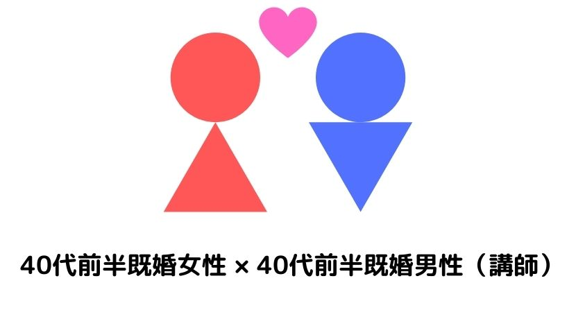 【職業訓練】恋愛ケース4:訓練生と講師!40代不倫カップル